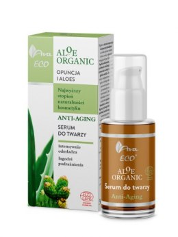 Anti-aging serum do twarzy Aloe Organic 30 ml - Ava