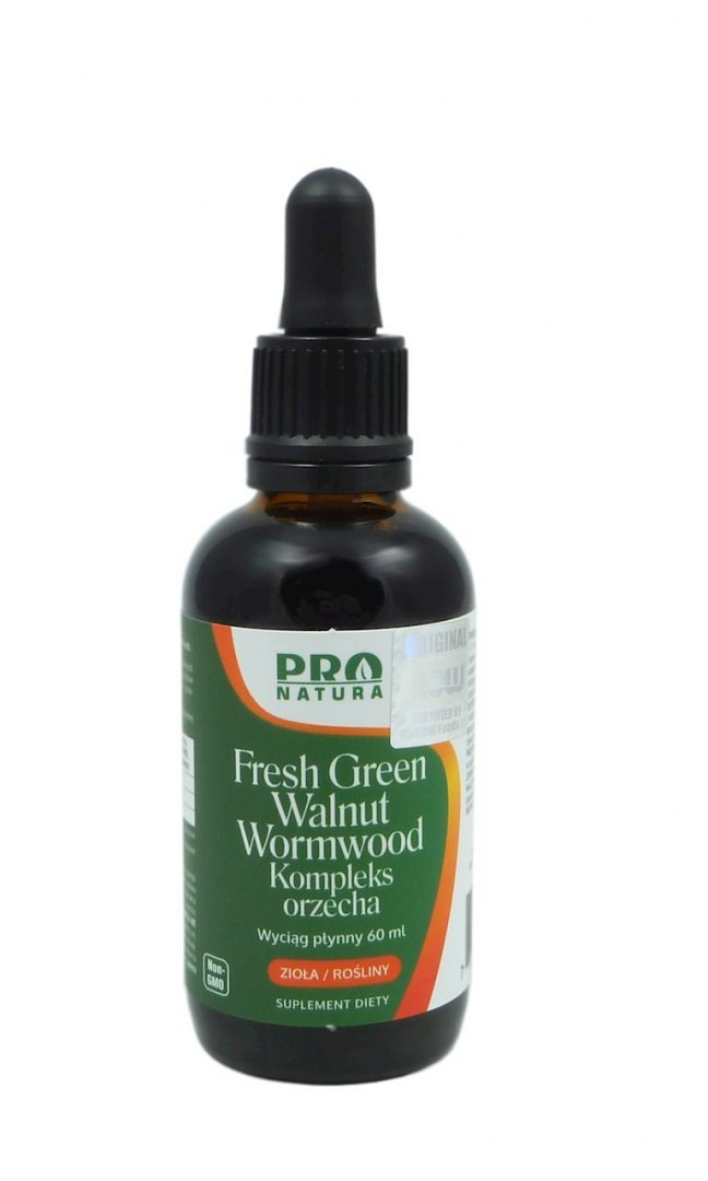 Fresh Green Walnut - Kompleks orzecha 60ml PRO NATURA (NOW FOODS)