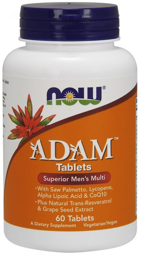 NOW FOODS ADAM - Multi-Vitamin for Men 60tabl.