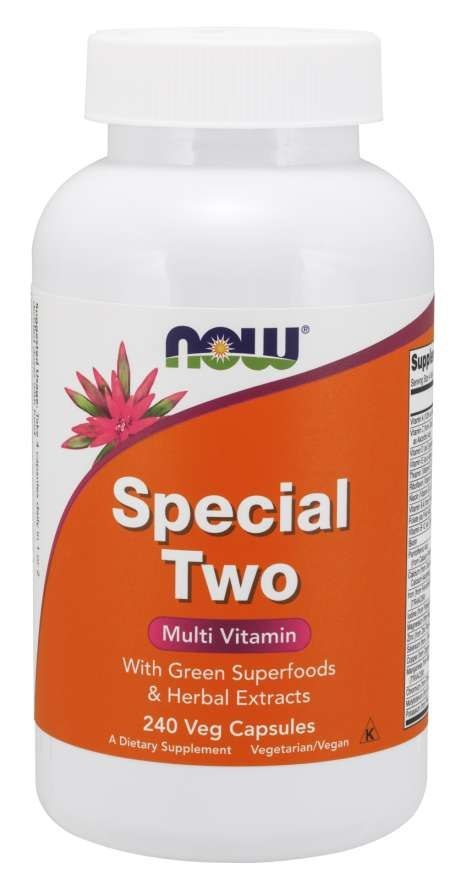 NOW FOODS Special Two 240 vcaps. (Multi Vitamin)